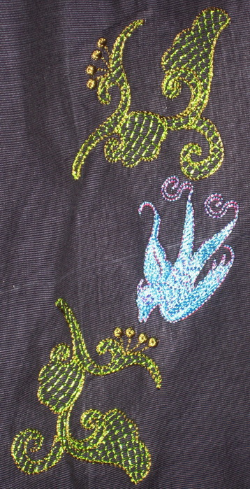 Vintage Charm Machine Embroidery Designs by Stitchingart. Blouse