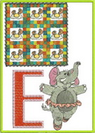 ABC Characters Machine Embroidery Designs