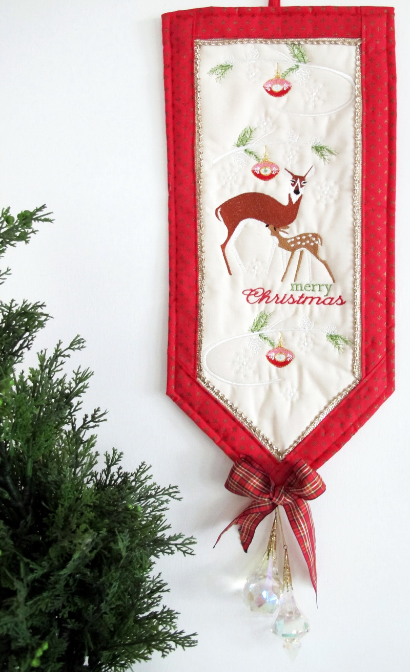 Cristmas 2015 free machine embroidery design