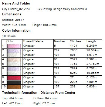 City Slicker Machine Embroidery Designs