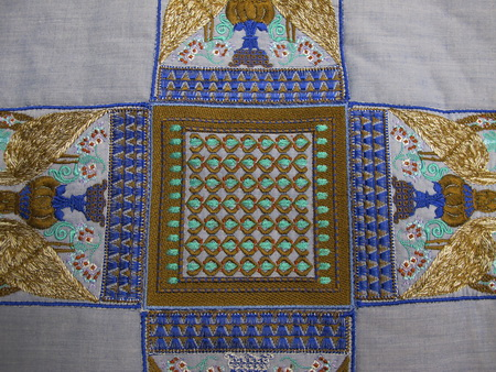 Mandir Machine Embroidery Designs