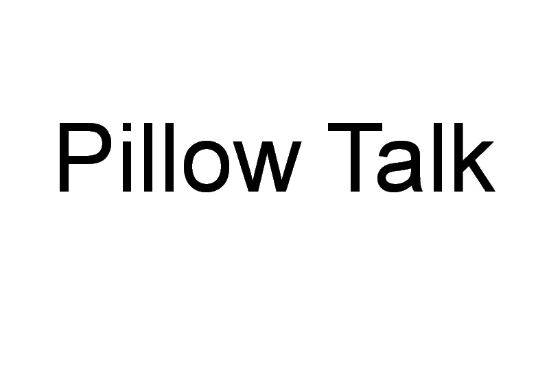 Pillow Talk Machine Embroidery Designs