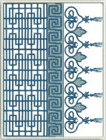 Reflection of Tradition Machine Embroidery Designs