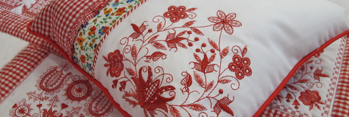Seeing Red Machine Embroidery Designs by Stitchingart