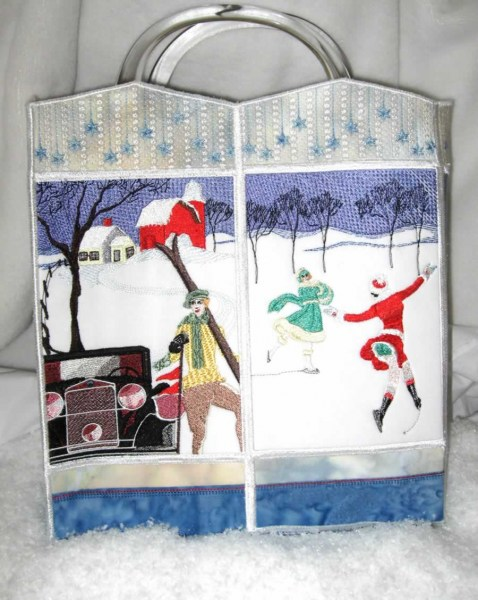 Winter Wonderland Machine Embroidery Designs by Stitchingart