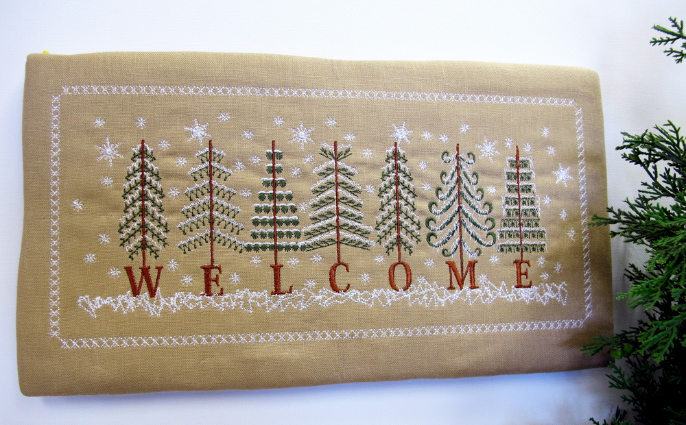 Welcome Machine Embroidery Designs by Stitchingart