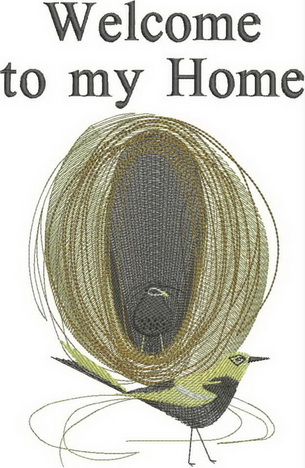 Coming Home Machine Embroidery Designs