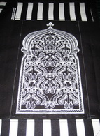 Ebony and Ivory Machine Embroidery Design Instructions