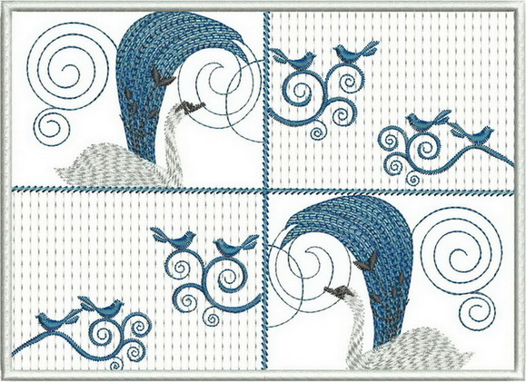Refined and Timeless Machine Embroidery Designs