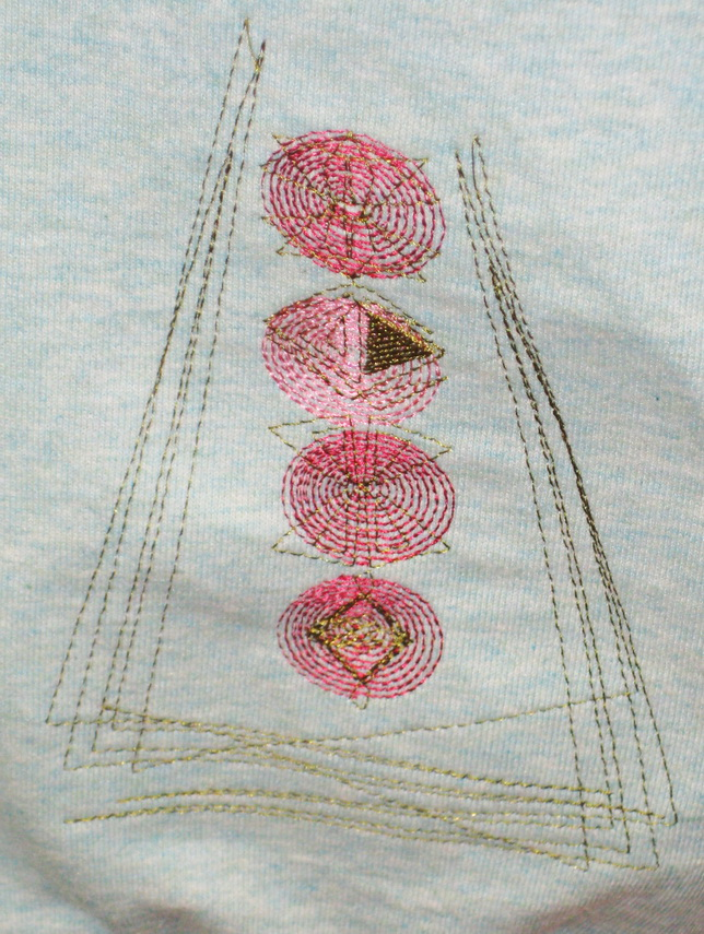 Vintage 1950's Machine Embroidery Designs by Stitchingart. Jumper.