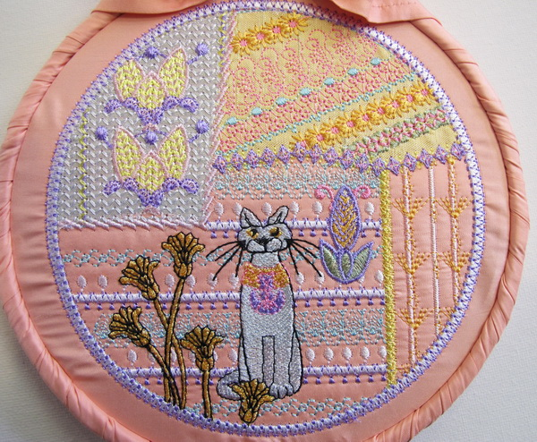 Crazy Patch No 3 Machine Embroidery Designs
