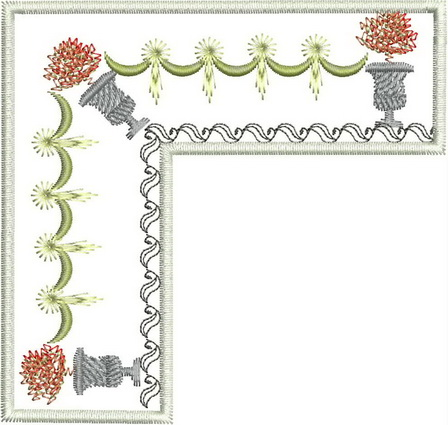 Four Seasons Autumn Machine Embroidery Designs