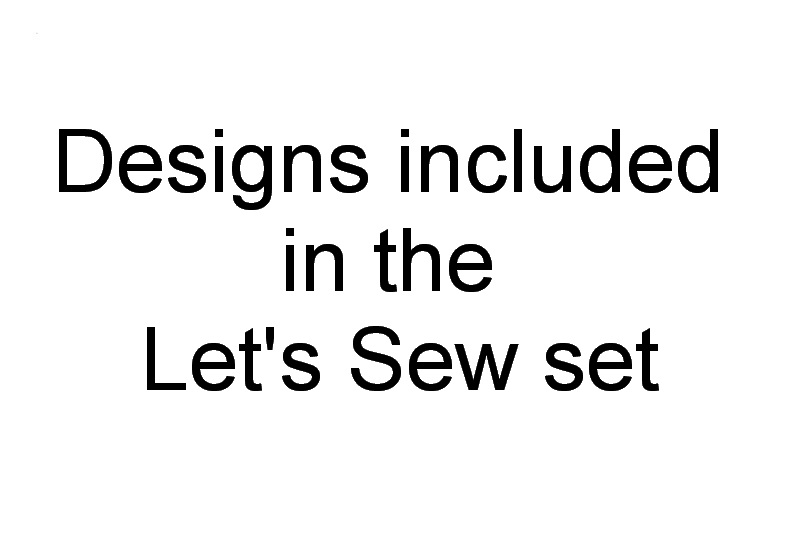 Let's Sew Machine Embroidery Designs