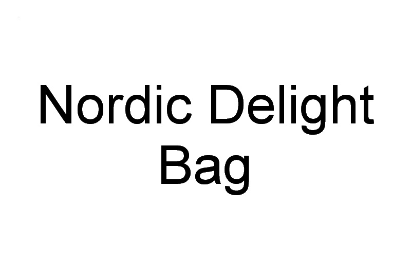 Nordic Delight Machine Embroidery Designs by Stitchingart. Artistic patterns and Colourful Bag