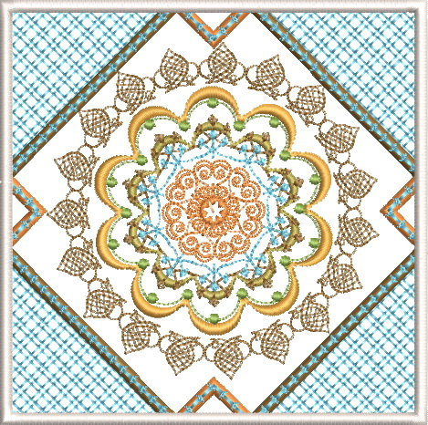 Sorbet Shades Machine Embroidery Designs