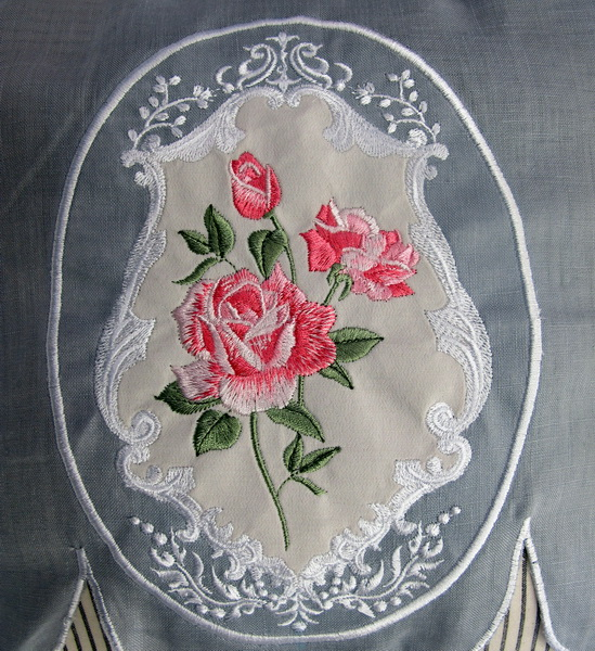 The Roses Machine Embroidery Designs
