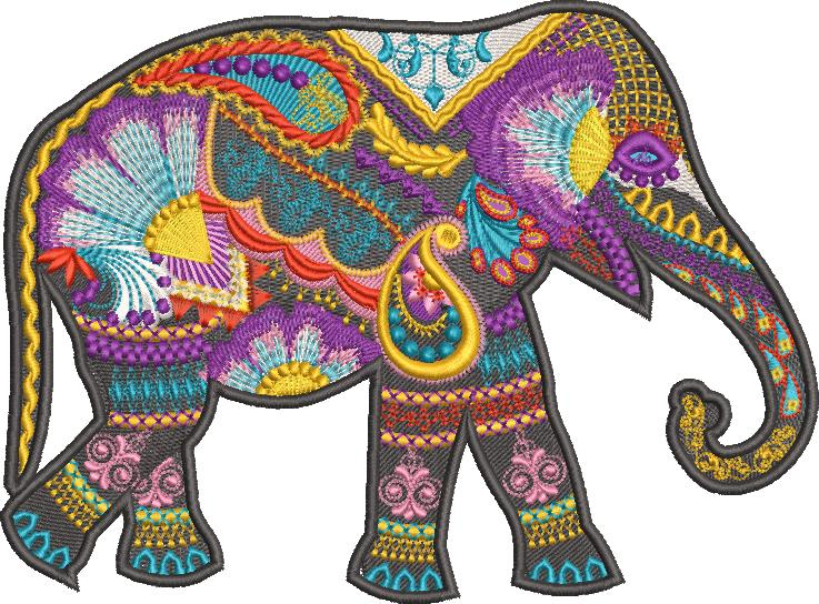 Wild and Free Machine Embroidery Designs by Stitchingart.