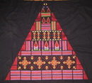 Textured Pyramid Machine Embroidery Design Instructions