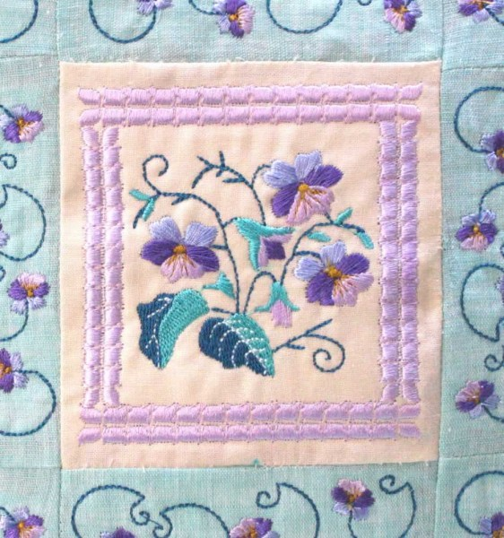 Stitchingart - Machine Embroidery Designs by Cathy Park - Shop online for Floral and Flower Machine Embroidery Design Sets