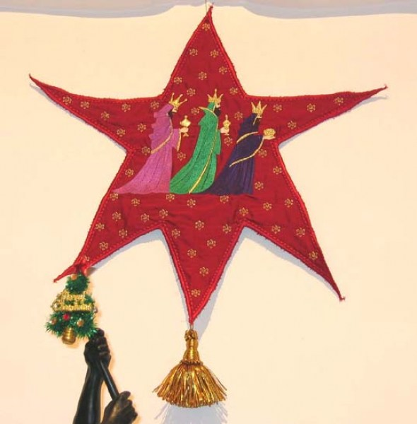 3 Wise Men Machine Embroidery Designs by StitchingArt