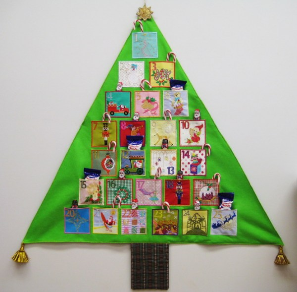 Advent Calendar Machine Embroidery Designs by StitchingArt