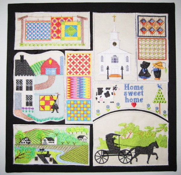 Amish Machine Embroidery Designs by StitchingArt