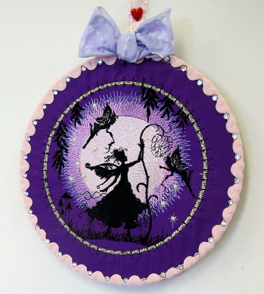 Dream Moon Fairies Machine Embroidery Designs by Stitchingart