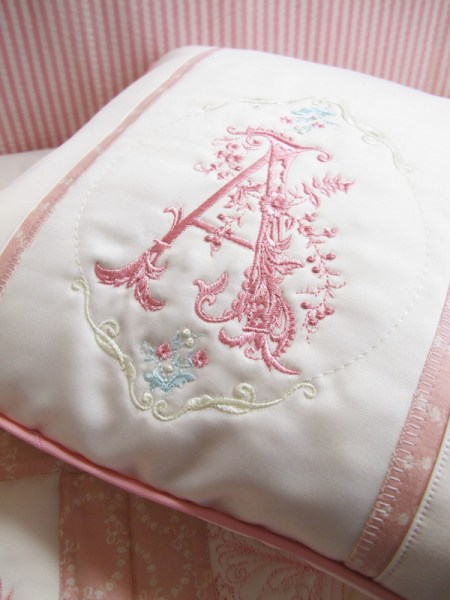Monograms Machine Embroidery Designs by Stitchingart