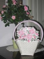 Romancing the Rose Basket Machine Embroidery Designs