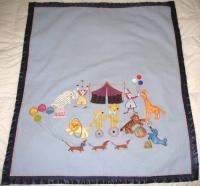 Hey Day Circus Machine Embroidery Designs