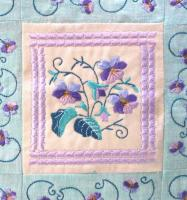 Pansy Machine Embroidery Designs