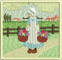 Bring to Market Machine Embroidery Designs