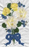 Bouquet Machine Embroidery Designs